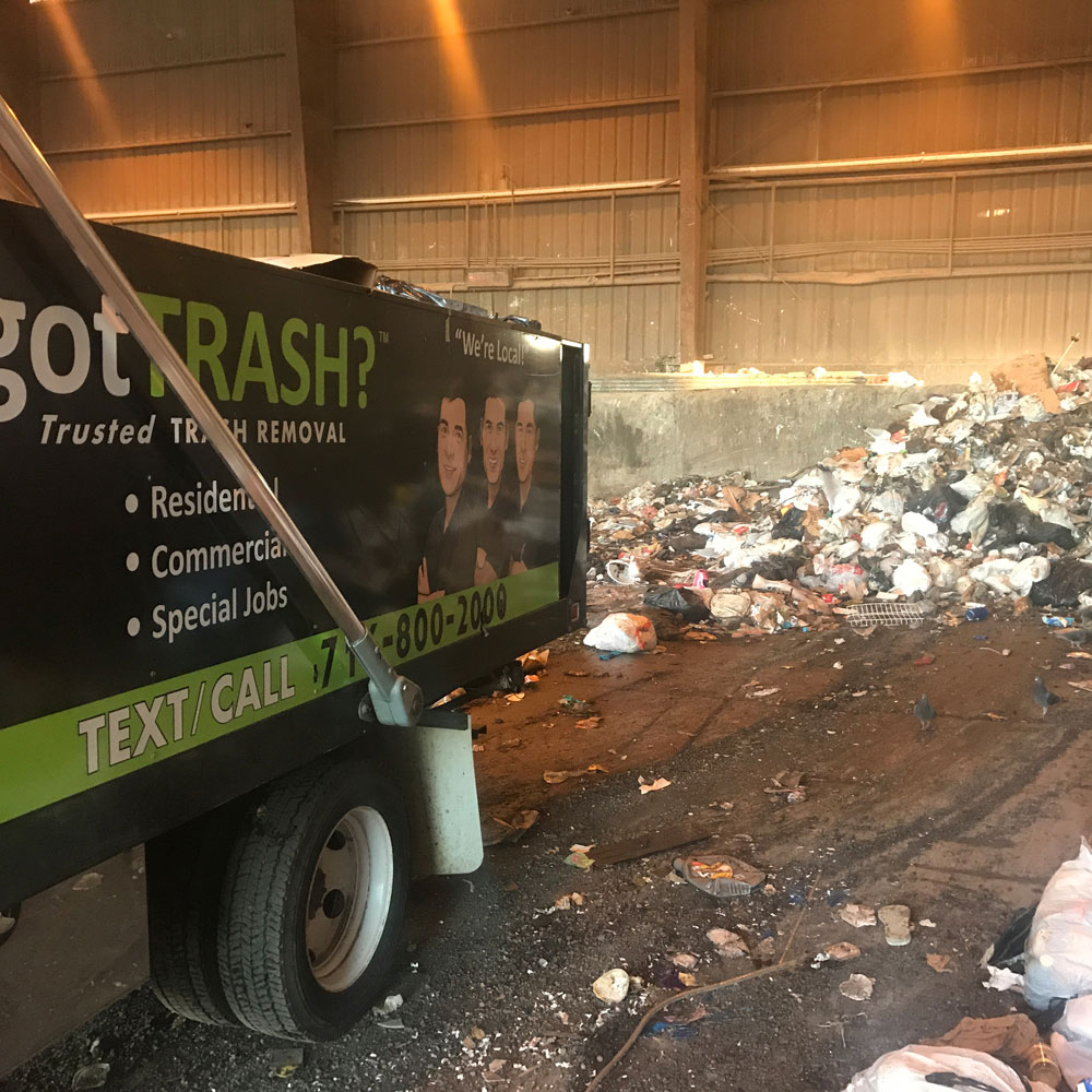 Commercial trash removal